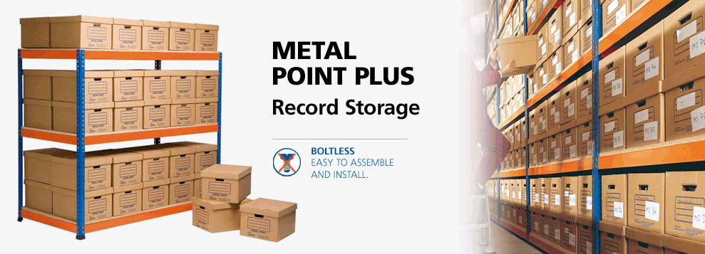 Image of metal point plus for record storage