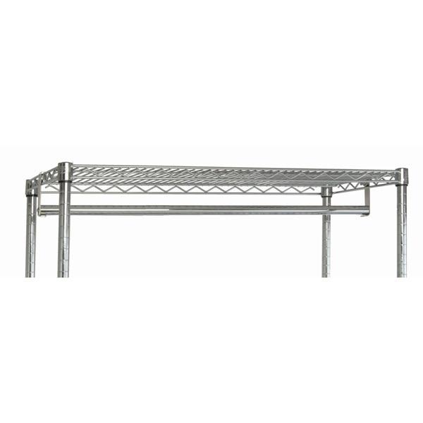 Chrome Wire Shelf Hang Bar - Shelving Direct