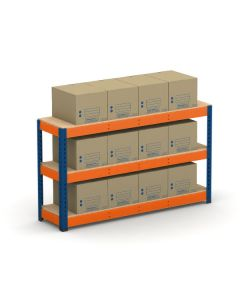 METAL POINT®PLUS Record Storage Quick Access with ECO boxes