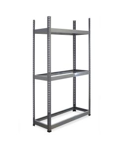 METAL POINT®PLUS Steel Shelving Unit with no decking