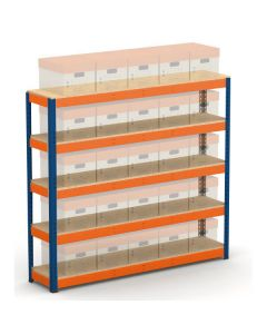 METAL POINT®PLUS Record Storage Quick Access without boxes