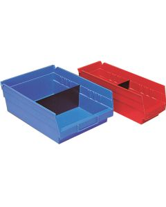 Shelf bins dividers
