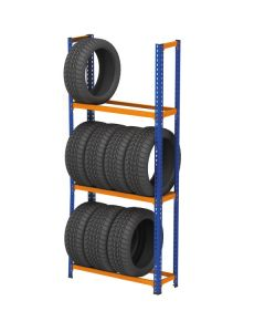 METAL POINT ® 2 Tire Rack Unit