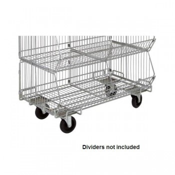 Chrome Wire Shelf Dolly Base