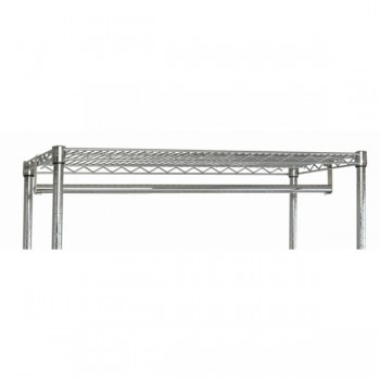 Chrome Wire Shelf Hang Bar