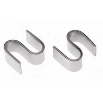 Chrome Wire Shelf S-Hooks