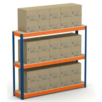 METAL POINT®PLUS Record Storage Economy Kits with ECO boxes