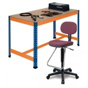 METAL POINT®PLUS Workbench with foot rest