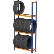 METAL POINT ® 2 Tire Rack Unit