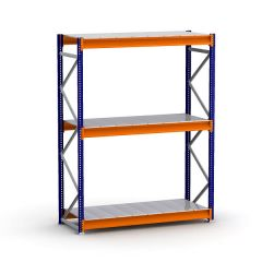 Bulk Rack Shelving Units with Steel Decking