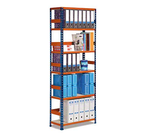 Metal Point Plus metal shelves for shop exhibitions