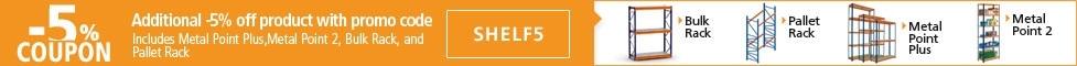 extra 5% off using code shelf5